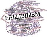 Word cloud for Fallibilism