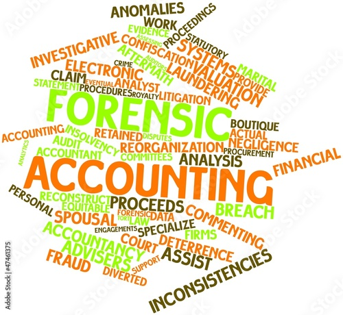 Word cloud for Forensic accounting
