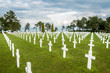 White crosses for the American fallen