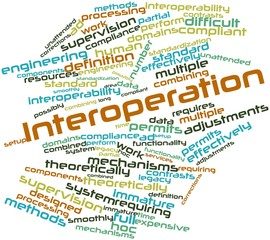 Word cloud for Interoperation