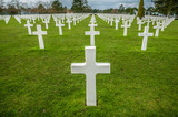 American military cemetery othe landing in Normandy on D Day
