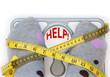 Leinwandbild Motiv Weighing scales