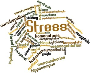 Word cloud for Stress