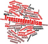 Word cloud for Transcendentalism