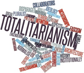 Word cloud for Totalitarianism