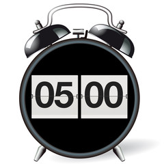 Wecker retor - Uhrzeit 05:00