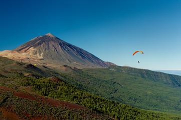 Drachenfliegen am Teide
