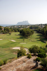 Golf course on the Costa Blanca