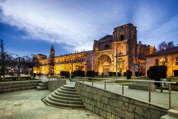 San Marcos Monastery of the sixteenth century in Leon Castilla y