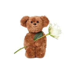 Rose als Geschenk