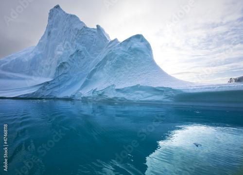 Fotobehang Antarctica 2 Iceberg - Scoresbysund - Greenland