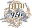 Word cloud for Credit risk