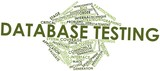 Word cloud for Database testing