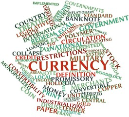 Word cloud for Currency