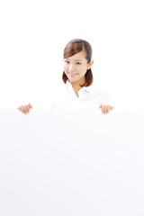 ホワイトボード・女性
