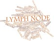 Word cloud for Lymph node
