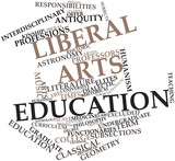 Word cloud for Liberal arts education