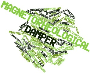 Word cloud for Magnetorheological damper