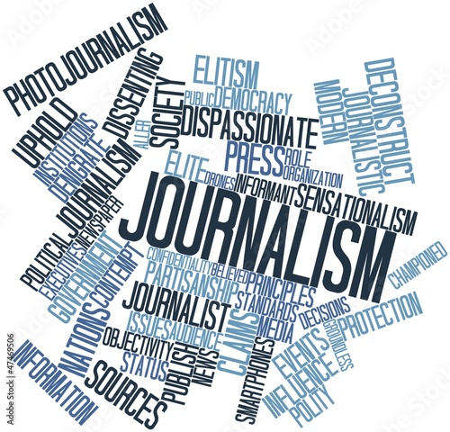 Word cloud for Journalism