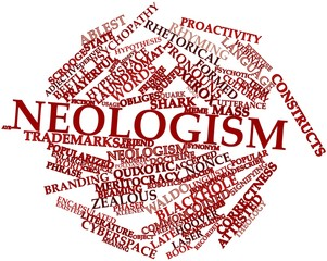Word cloud for Neologism