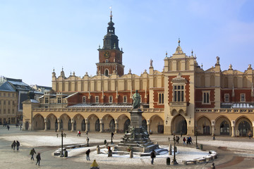 Cracow - Cloth Hall - Main Square - Poland