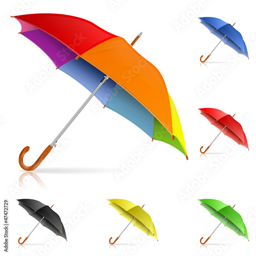 Set Umbrellas