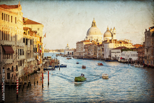 Obraz na Szkle Venice - The Grand Canal