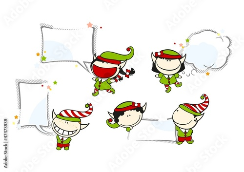Funny kids #69 - Christmas backgrounds