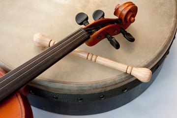 Irish folk / Geige und Bodhran