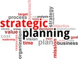 word cloud - strategic planning
