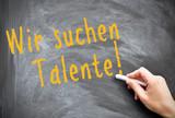 Wir suchen Talente poster