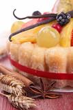 Fototapety fruit cake