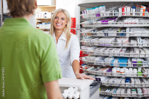 Helpful Pharmacist Employee
