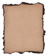Detaily fotografie pálené papír