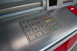 ATM machine / close up of keypad numbers