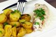 filet de daurade et pommes de terre pompadour 6