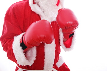 Santa Claus Boxing