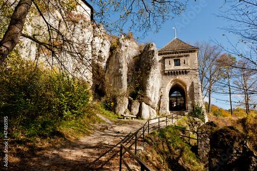 Ojców ruiny Zamku Kazimierza Wielkiego
