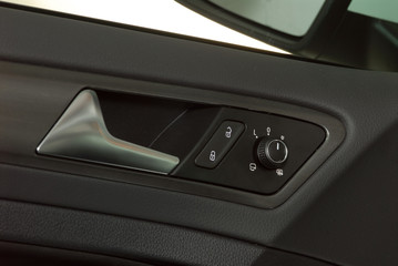 car door handles and electric detail