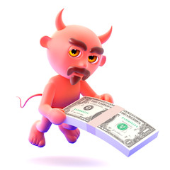 Devil pay a bribe in US Dollars