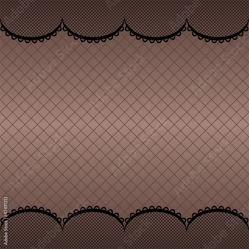 White vector lace pattern background