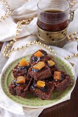 brownies mit trockenfrüchten