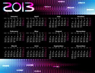 2013 year calendar