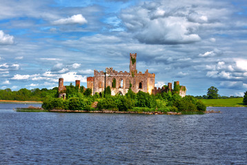Lough Key castle Roscommon River Shannon