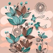 Instrumentation 饰 花