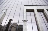 Modernist office buildings poster