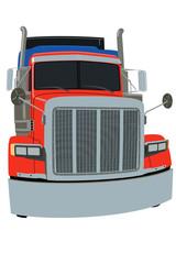 Kolorowa Amerykańska Ciężarówka