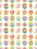 Fototapety seamless Easter Egg pattern