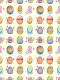 Fototapety seamless Easter Egg pattern