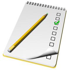 BloccoNote_checklist